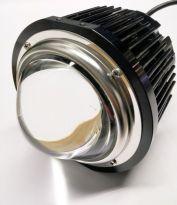 Cree COB spot 100 Watt Glazen OPTIC lens