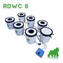 Growrilla Hydroponics RDWC 6