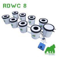 Growrilla Hydroponics RDWC 8