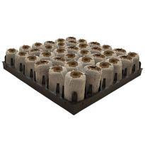 Jiffy Jumbo Plug Tray van 36 50x95mm