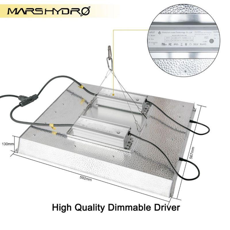mars hydro ts 3000 led kweeklamp