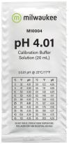 Milwaukee pH 4.01 25 x 20ml zakjes