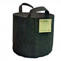 Root Pouch Black 1 Gallon/3.8 liter 260gr/m2 met handvaten