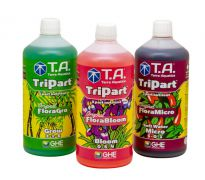 Terra Aquatica TriPart® Grow + Bloom + Micro Soft water 1 liter